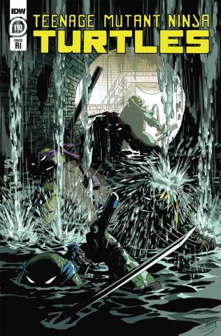 Teenage Mutant Ninja Turtles #110 (10 Copy Ben Bates Cover)