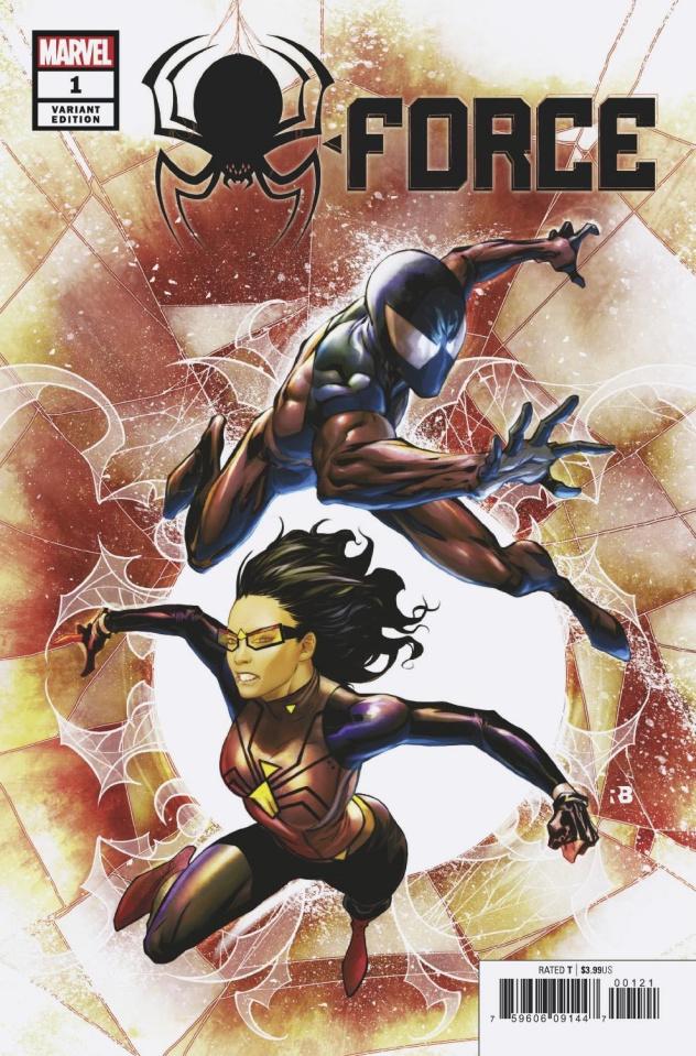 Spider-Force #1 (Benjamin Cover)