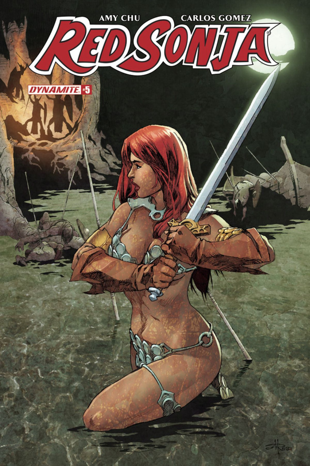 Red Sonja #5 (Rubi Subscription Cover)