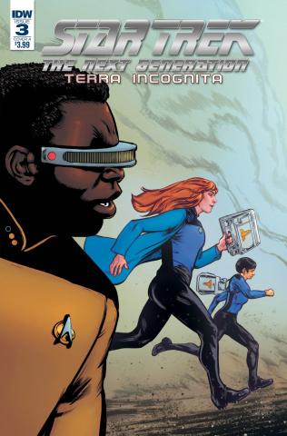 Star Trek: The Next Generation - Terra Incognita #3 (Shasteen Cover)