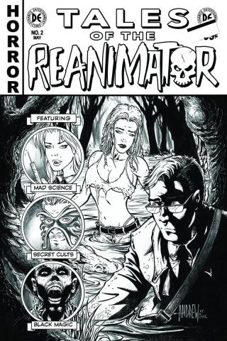 Reanimator #2 (10 Copy Mangum B&W Cover)