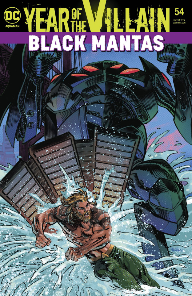 Aquaman #54 (Year of the Villian)