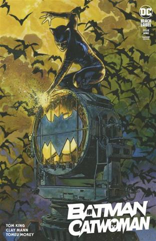 Batman / Catwoman #8 (Travis Charest Cover)
