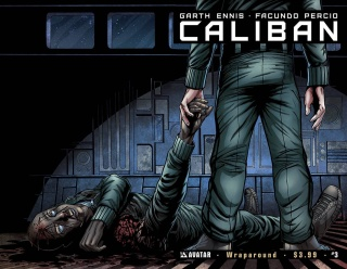 Caliban #3 (Wrap Cover)