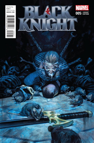 Black Knight #5 (Tedesco Cover)