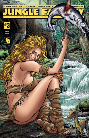 Jungle Fantasy: Ivory #3 (Costume Change Cover)