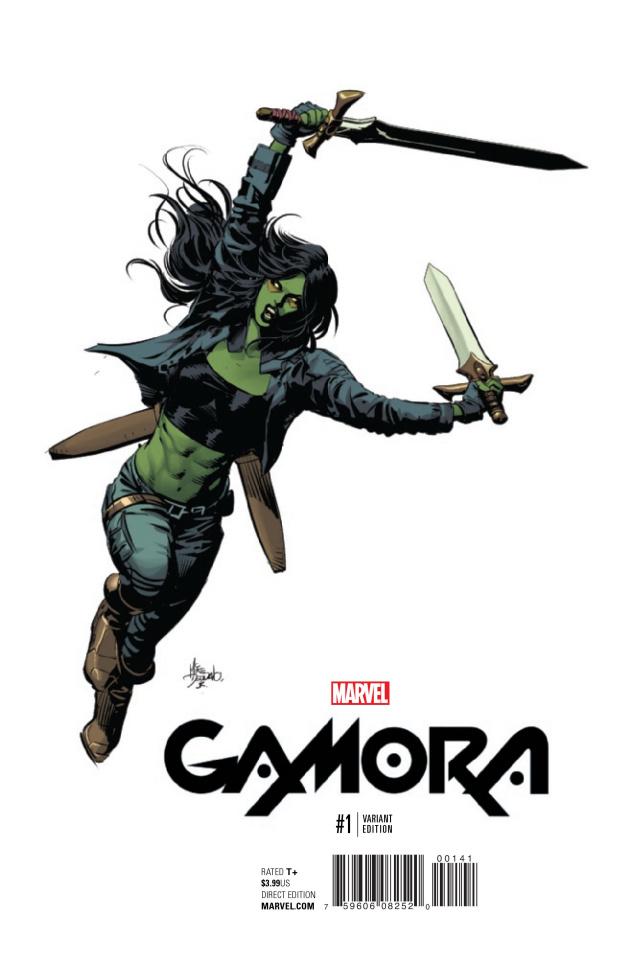 Gamora #1 (Deodato Teaser Cover)