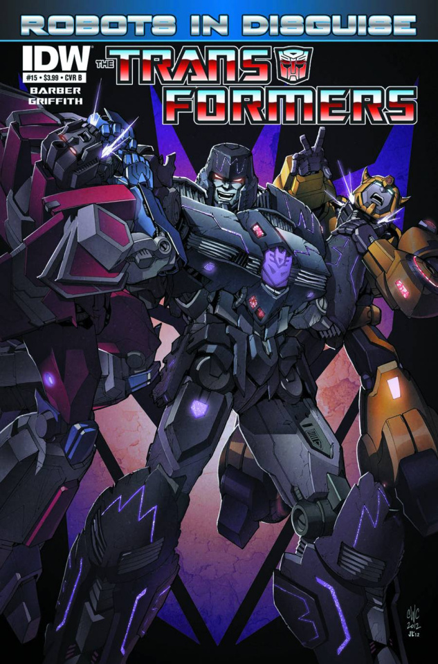 The Transformers: Robots in Disguise #15 (10 Copy Cover)