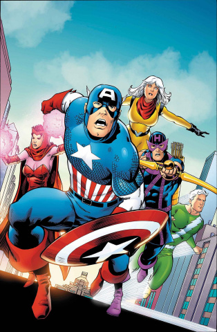 Old Man Hawkeye #1 (Kitson Avengers Cover)