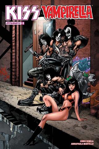 KISS / Vampirella #3 (Castro Cover)