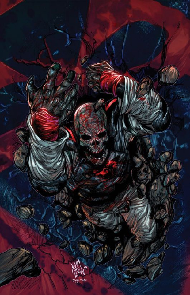 Death Force #6 (Hill Cover)