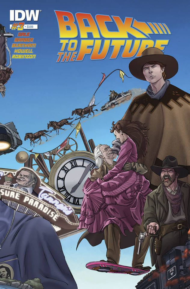 Back to the Future #3 (Subscription Cover)