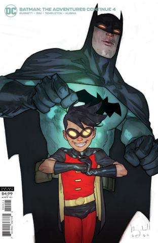 Batman: The Adventures Continue #4 (Ben Caldwell Card Stock Cover)