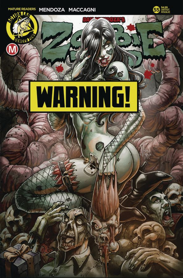 Zombie Tramp #55 (Tabanas Risque Cover)