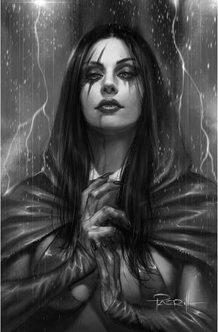 Vengeance of Vampirella #14 (25 Copy Parrillo B&W Virgin Cover)