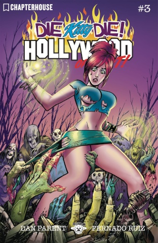 Die Kitty Die! Hollywood or Bust #3 (Ruiz Cover)