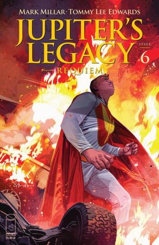 Jupiter's Legacy: Requiem #6 (Edwards Cover)