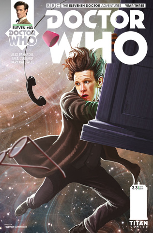 Doctor Who: New Adventures with the Eleventh Doctor, Year Three #3 (Ianniciello Cover)