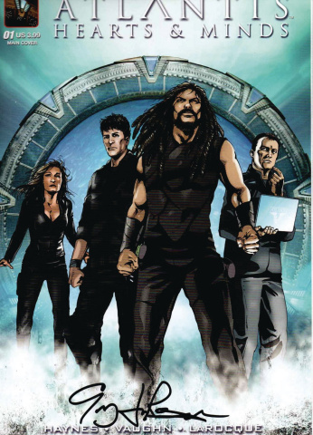 Stargate Atlantis: Hearts & Minds #1 (Larocque Signed Cover)