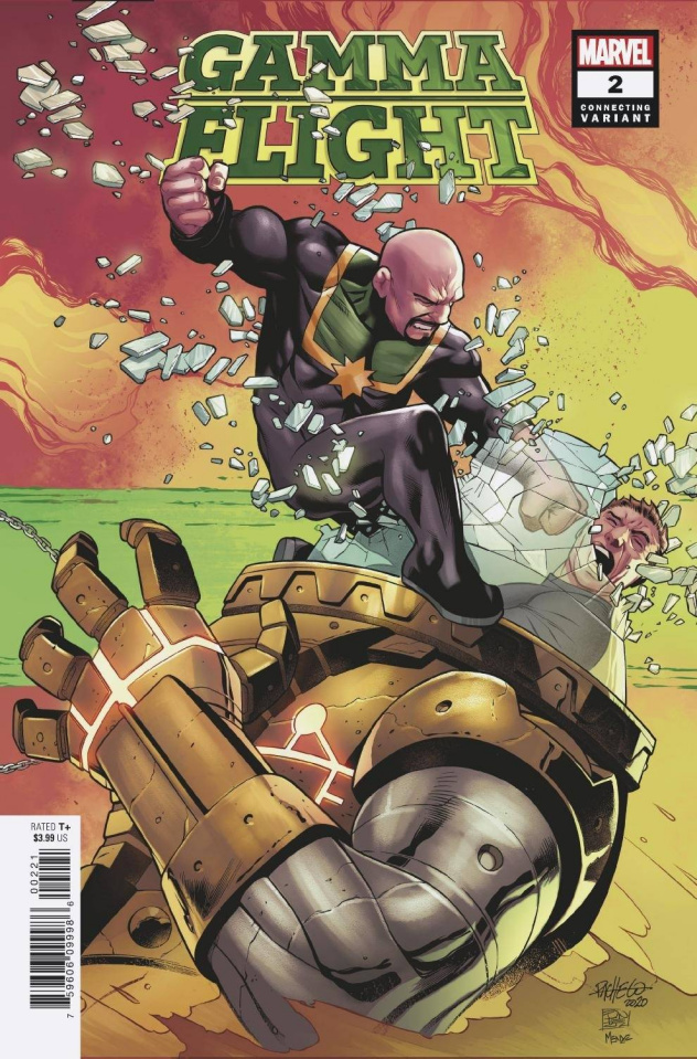 Gamma Flight #2 (Pacheco Connecting Cover)