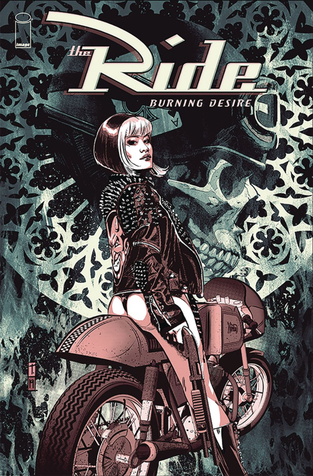 The Ride: Burning Desire #4 (Coker Cover)