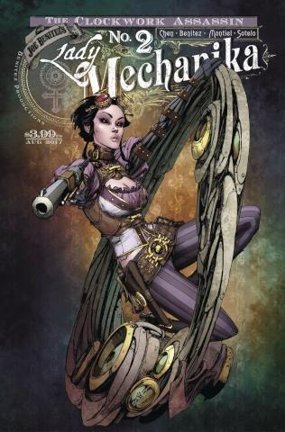 Lady Mechanika: The Clockwork Assassin #2 (10 Copy Cover)