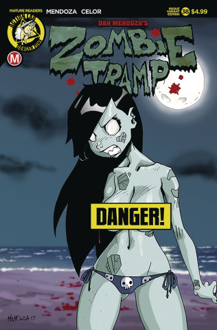 Zombie Tramp #38 (Mendoza Risque Cover)