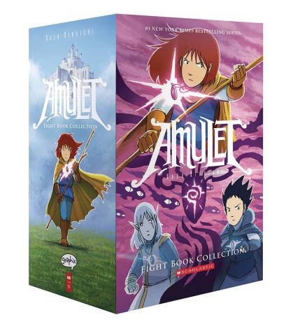 Amulet Vols. 1-8 (Box Set)