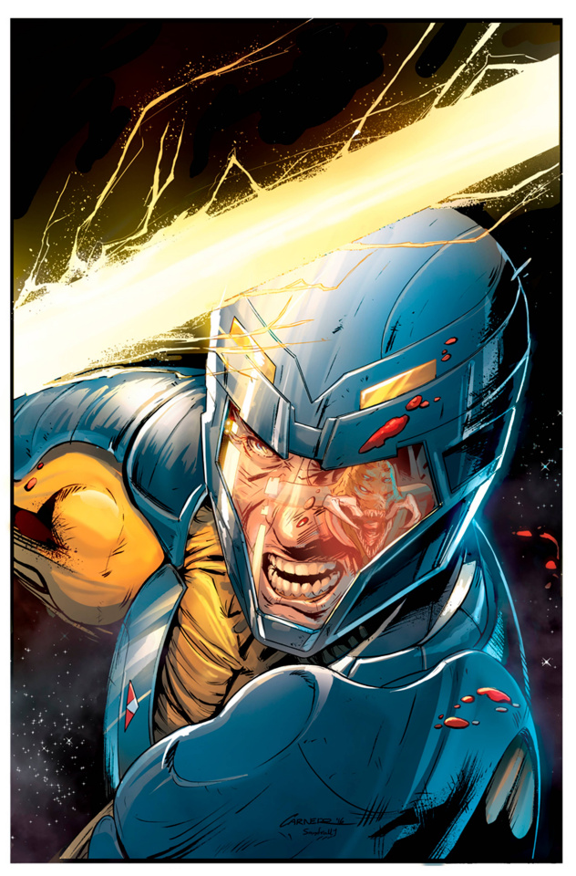 X-O Manowar Annual 2016 (Carnero Cover)