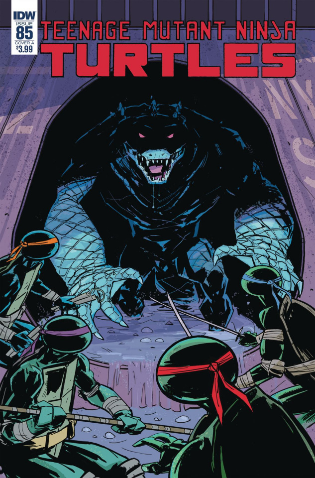 Teenage Mutant Ninja Turtles #85 (Revel Cover)