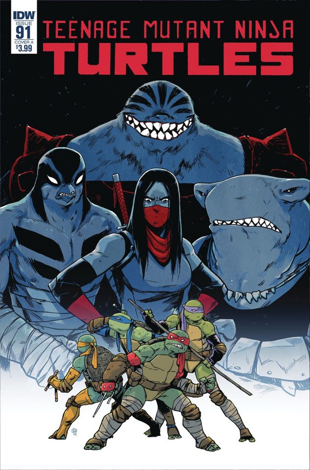 Teenage Mutant Ninja Turtles #91 (Dialynas Cover)