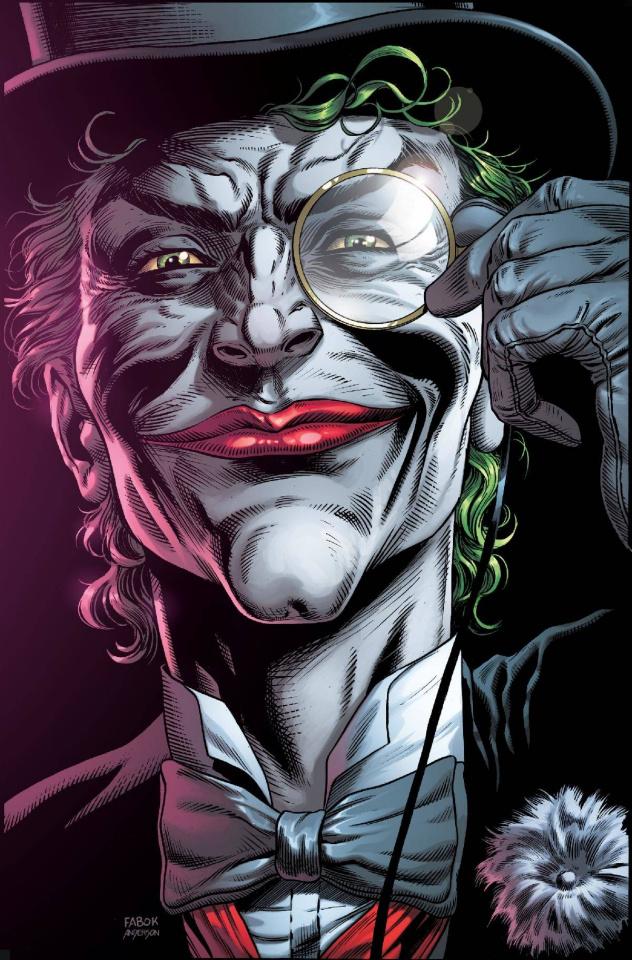 Batman: Three Jokers #2 (Premium Top Hat Cover)