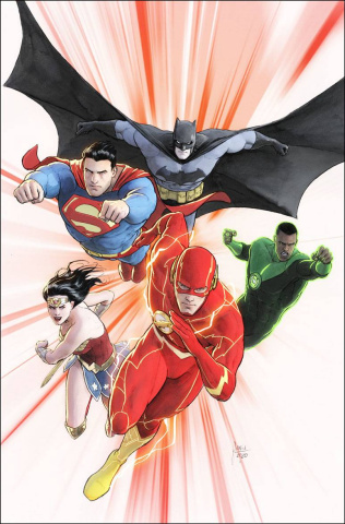 Justice League #47 (Card Stock Mikel Janin Cover)