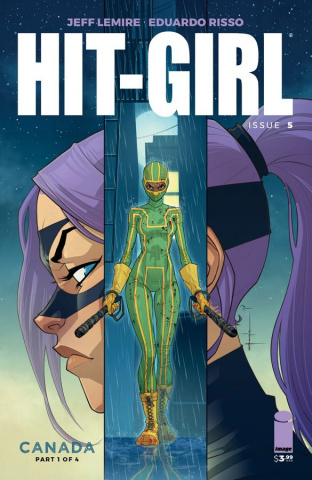 Hit-Girl #5 (Yildirim Cover)