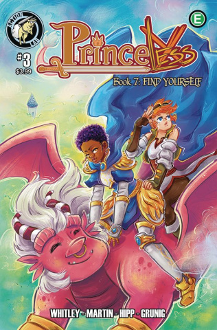 Princeless: Find Yourself #3 (Cover B)