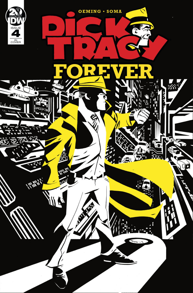 Dick Tracy Forever #4 (10 Copy Oeming Cover)