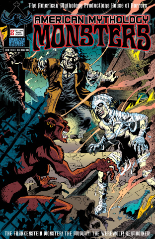 American Mythology: Monsters #2 (Vokes Cover)