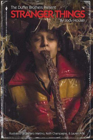 Stranger Things #4 (Satterfield Photo Cover)