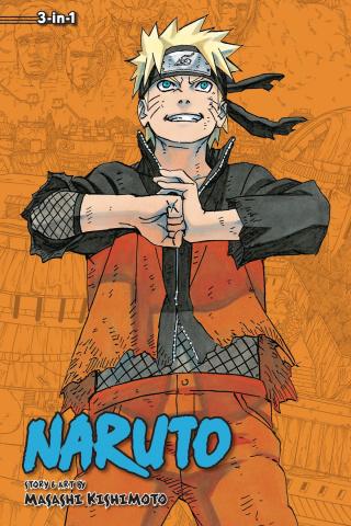 Naruto Vol. 22 (3-in-1 Edition)