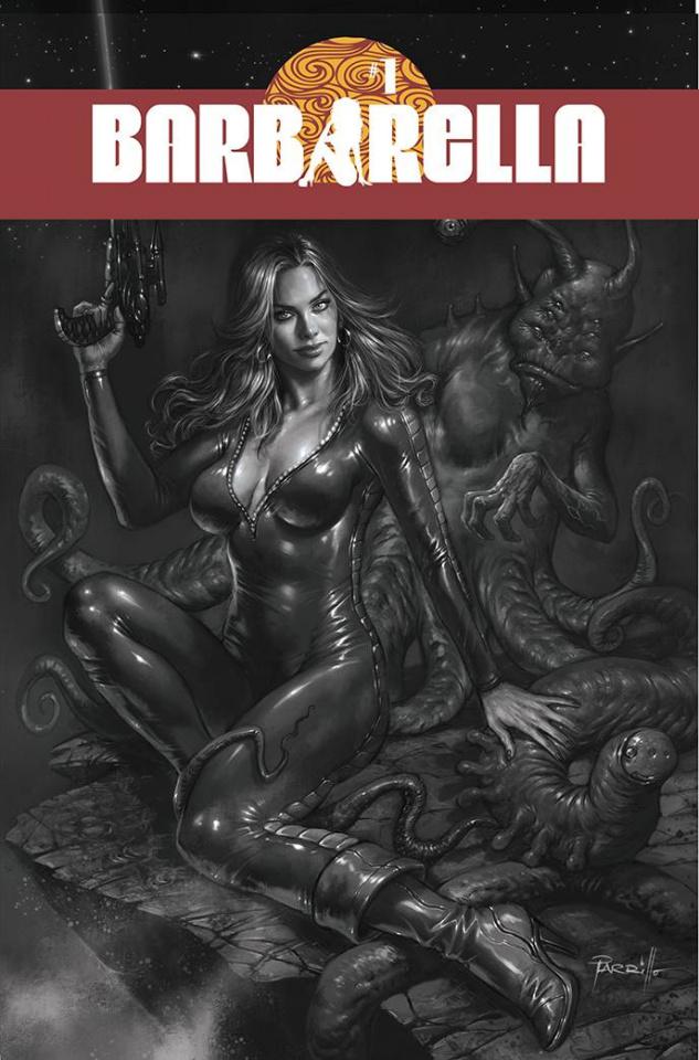 Barbarella #1 (25 Copy Parrillo B&W Cover)