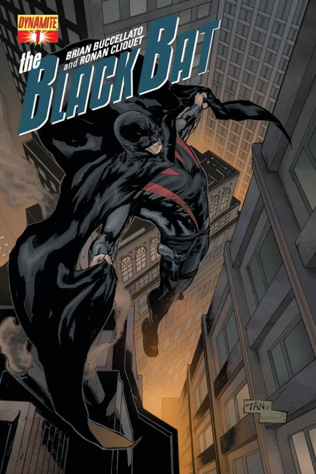 The Black Bat #1 (Tan Cover)