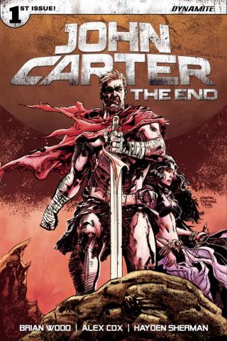 John Carter: The End #1 (Hardman Cover)