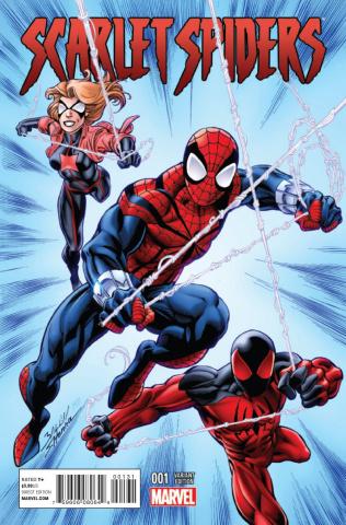 Scarlet Spiders #1 (Bagley Cover)