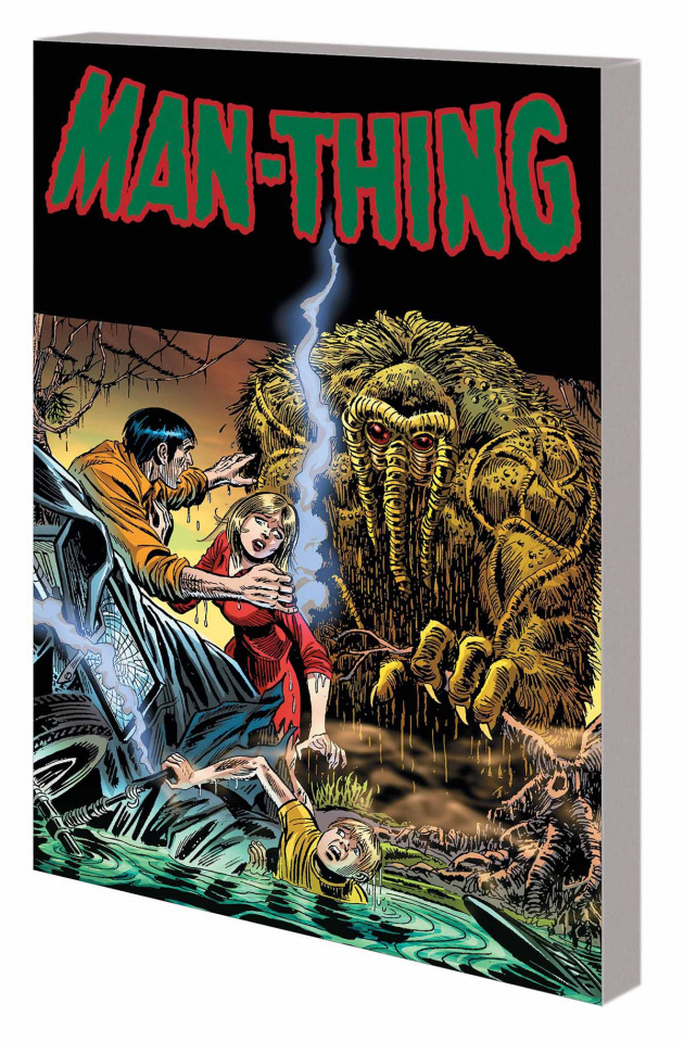 Man Thing by Steve Gerber: The Complete Collection Vol. 1