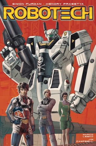 Robotech #19 (Quah Cover)