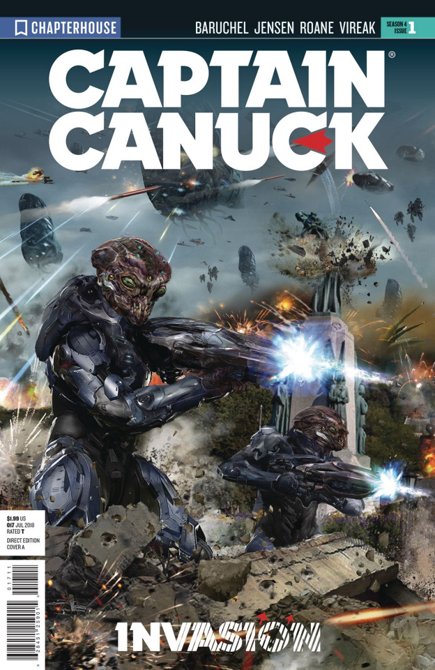 Captain Canuck, Season 4 #1