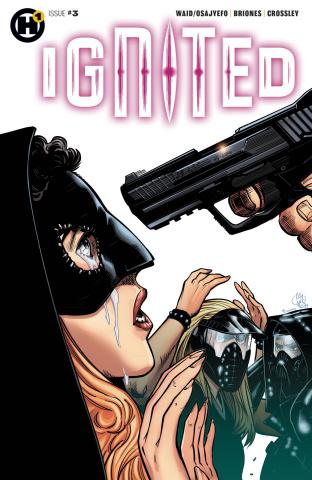 Ignited #3 (Briones Cover)