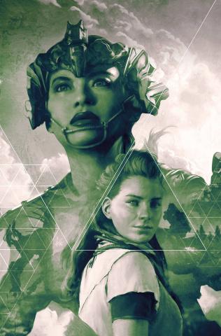 Horizon: Zero Dawn #3 (Artgerm B&W Virgin 25 Copy Cover)