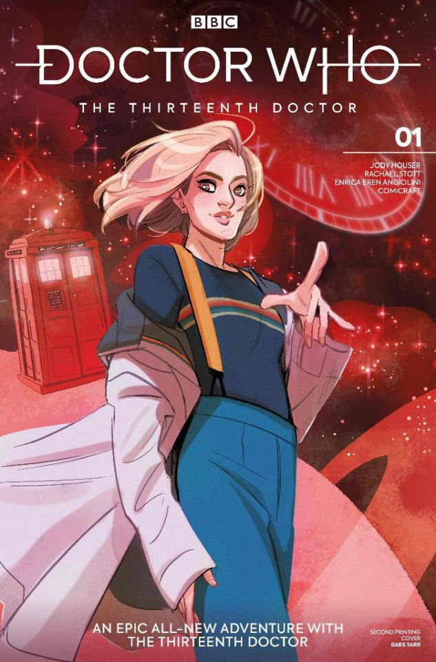 Doctor Who: The Thirteenth Doctor #1 (2nd Printing)