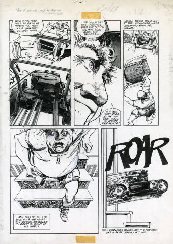 Walter Simonson's Lawnmower Man Artist's Edition Portfolio